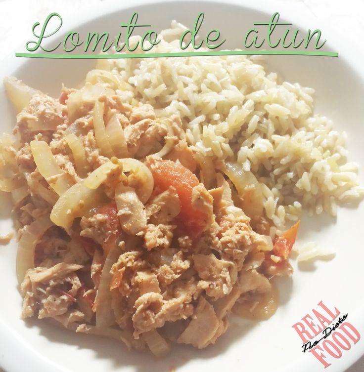 Lomito de Atun, a healthy and different take on Lomo Saltado. #tuna #stirfry #peruvian #REALFOODnodiets #healthy #delicious