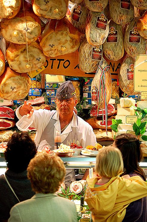 Prosciutto Shop, Florence, Italy