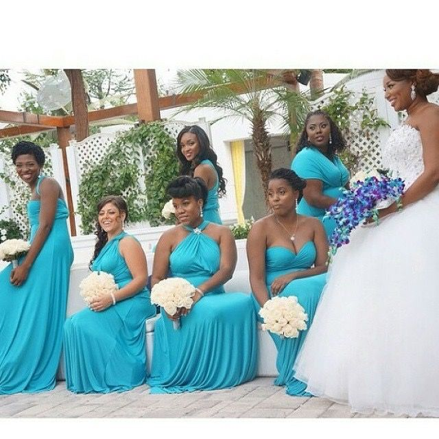 Nigerian Wedding Bridesmaids: 180 Best Images About Bridesmaids Colors & Ideas On