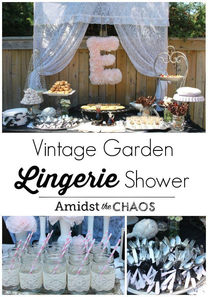 Vintage Garden Lingerie Party - Amidst the Chaos - online lingerie store, lingerie galleries, lingerie sezy