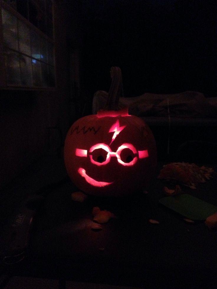 Harry Potter Pumpkin!