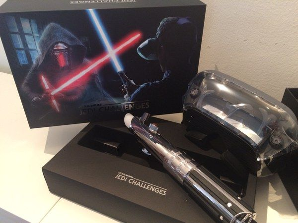 Star Wars Lightsaber toy review: Lenovo trains you as a Jedi
