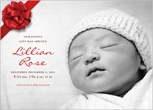 Holiday Birth Announcements   Shutterfly