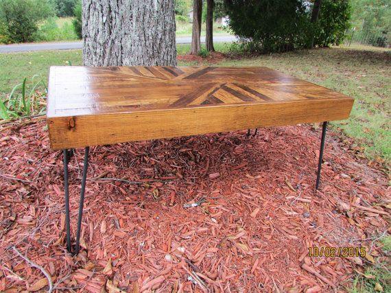 4 solide RAW staal haarspeld benen 3/8 tafelpoten door SereneVillage