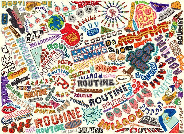 古谷萌展『ROUTINE』 リクルートの2つのギャラリー