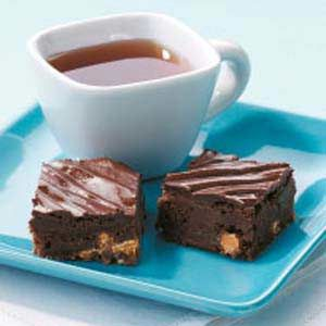 Dark Chocolate Butterscotch Brownies - even if you aren't a huge butterscotch fan these are incredible.