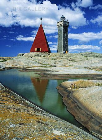 Vinga Lighthouse, Gothenburg archipelago | Vinga fyr, Göteborgs skärgård