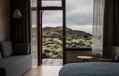 Set in the heart of a stunning lava landscape, Blue Lagoon accommodation is available at Blue Lagoon Clinic Hotel.