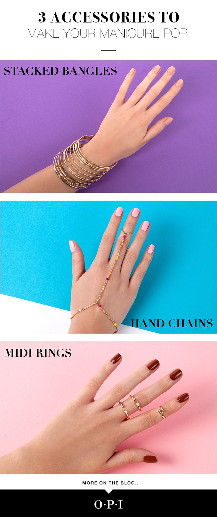 Fashion accessory blogs - A Good Manicure Should Never Go Unnoticed Here Are Three Accessories To Make Your Mani