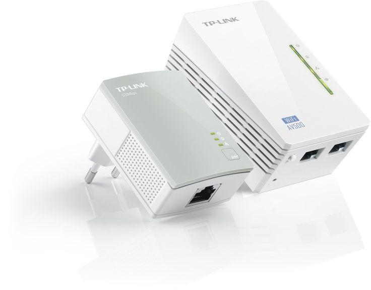 TP-LINK TL-WPA4220KIT AV500 WiFi 300Mbps un Pack de 2 Adaptateurs CPL (2 Ports Ethernet): Amazon.fr: Informatique