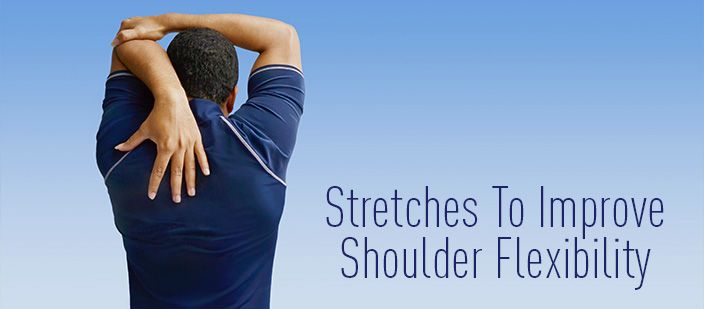 If you're experiencing pain in your shoulders, or you just want to increase your flexibility, you should try some shoulder stretches. Try these stre