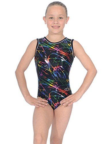 The Zone Sleeveless Macy Print Leotard Z943MAC (One Colour, 26) This sleeveless, round neck Macy gymnastics leotard from The Zone in all over foil print will light up the bars. Add a little colour to your routine with the vivid rainbo (Barcode EAN = 5060449747299) http://www.comparestoreprices.co.uk/december-2016-5/the-zone-sleeveless-macy-print-leotard-z943mac-one-colour-26-.asp