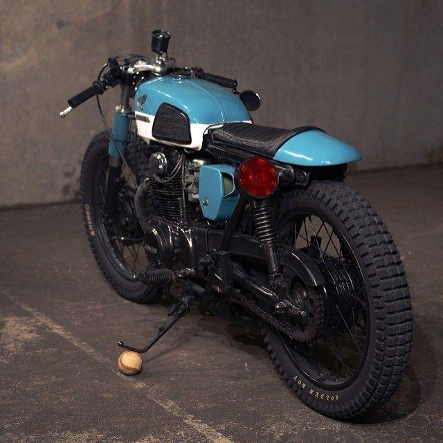 1973 #Honda CL350 #caferacer #motorcycle #eatsleepride app.eatsleepride.com