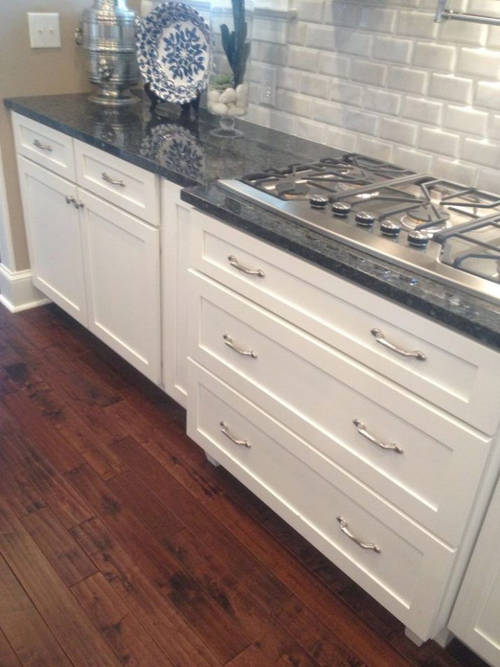 Image Result For Blue Pearl Granite With White Cabinets White Cabinets Blue Pearl Granite Home Decor