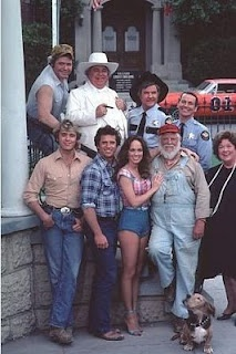 The Dukes of Hazzard.  A movie has come along, but it started with a Friday night TV show...