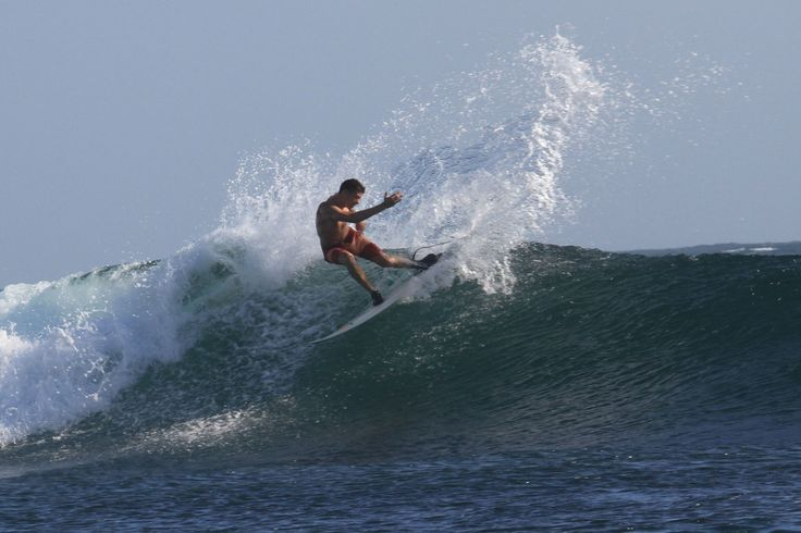 Gonzalo on the barrel