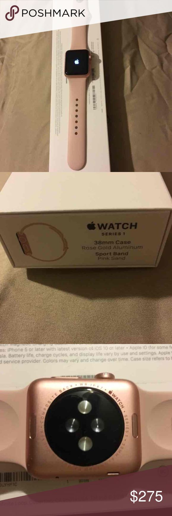 Apple watch 38mm Series 1 New Apple watch 38mm Series 1. Great buy  ❤️ Apple  Accessories Watches