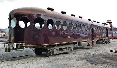 McKean motor car under restoration in NV.