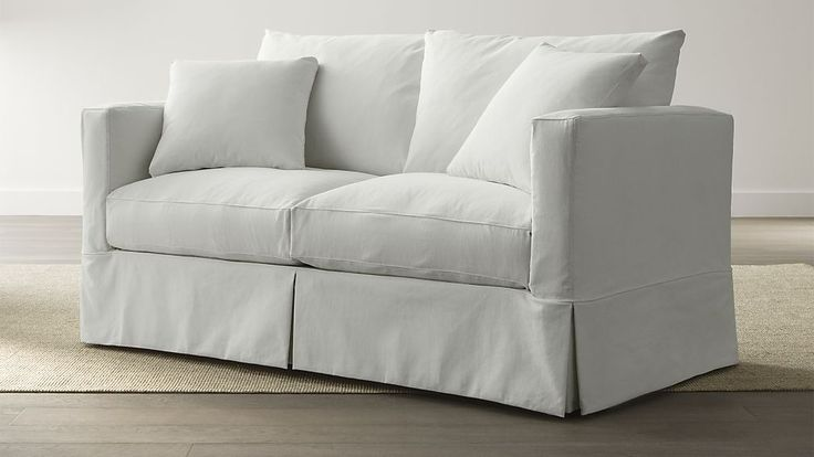 Slipcover Only for Willow Full Sleeper Sofa | Crate and Barrel  these slipcovers may fit!  check later