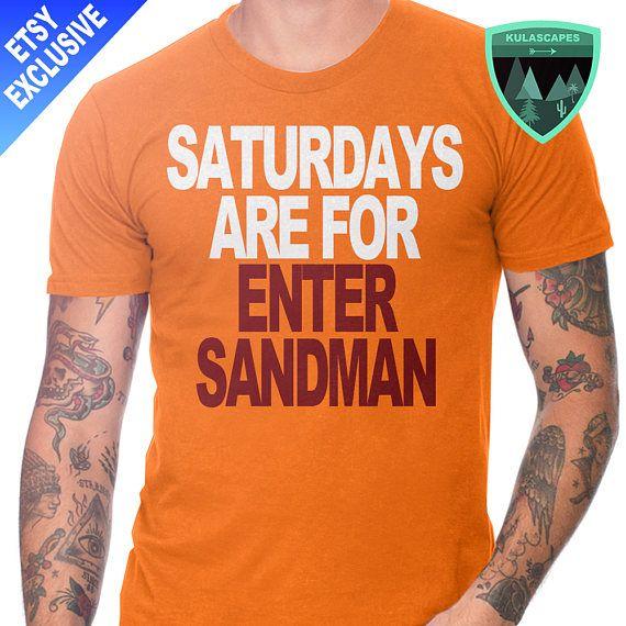 Official Saturdays are for Enter Sandman Shirt, Virginia Tech Shirt, Virginia Tech Football, Virginia Tech Sports, Virginia Tech Gift