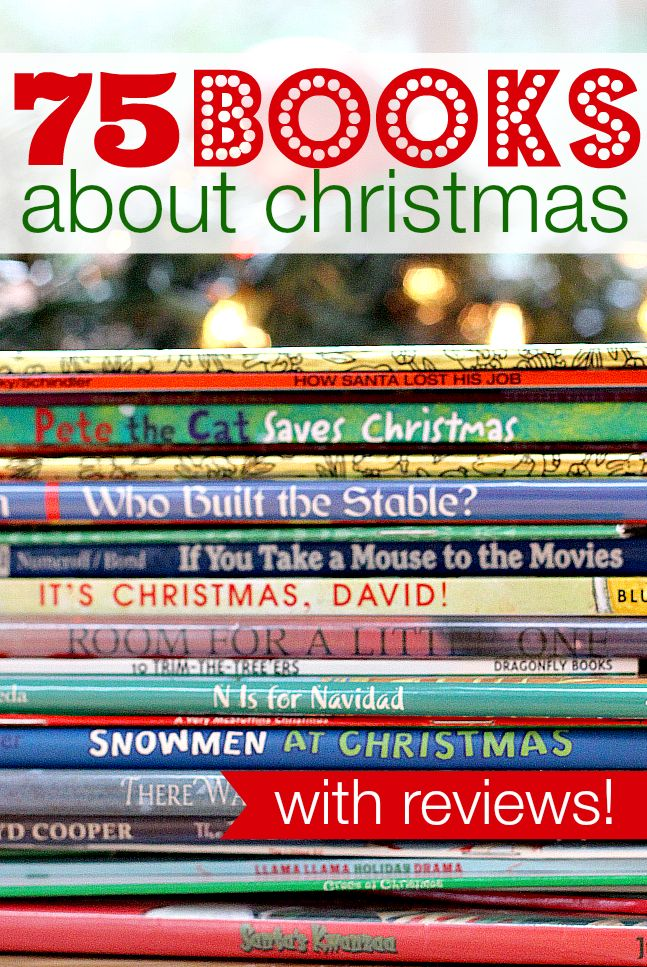 This is the best list of Christmas books I have ever seen. 75 Christmas books WITH reviews!