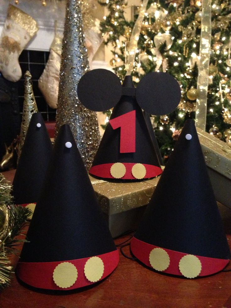Disney Inspired Mickey Minnie Party Hats (8)