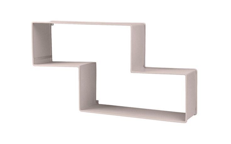 GUBI // Dedal shelf in rose by Mathieu Matégot