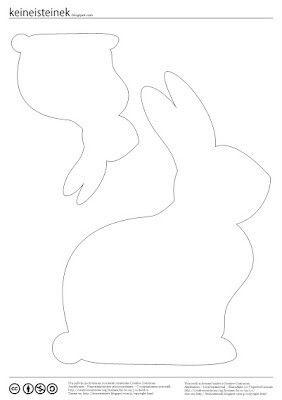 Bunnies http://www.pinterest.com/halinakaminski/patterns-templets-tutorials/