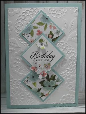 Carolyn King, Independent Stampin' Up! Demonstrator