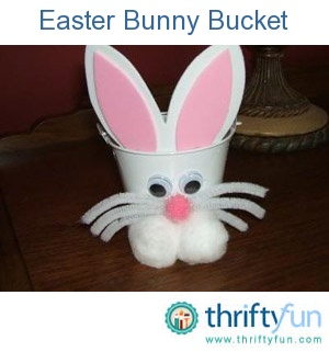 11 best pails images on pinterest box bucket and buckets little bunny bucket negle Images