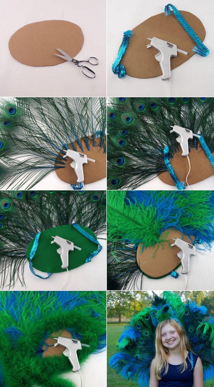 pfau-kostüm-pfauenrad-selber-machen-anleitung-pappe-heißkleber-federn