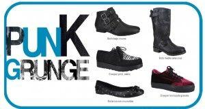 La tendencia más rebelde: punk y grunge.