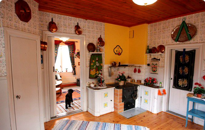 Image Result For Traditional Swedish Kitchen