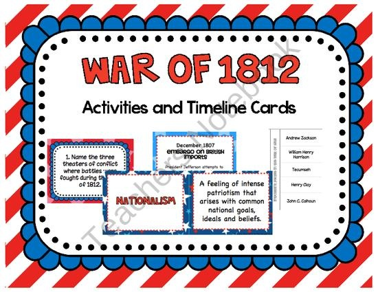 "war of 1812 essay thesis America faced many changes after the war of 1812 in many aspects most changes were extremely positive and therefore the time after the war was labeled the, ""era of."