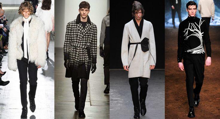 Tendencias otoño-invierno 2015/2016: dualidad en blanco y negro - http://hombresconestilo.com/tendencias-otono-invierno-20152016-dualidad-en-blanco-y-negro/