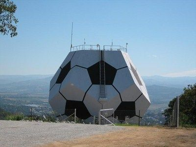 Nelspruit Dodecahedron - Mpumalanga, South Africa - Water Towers on Waymarking.com