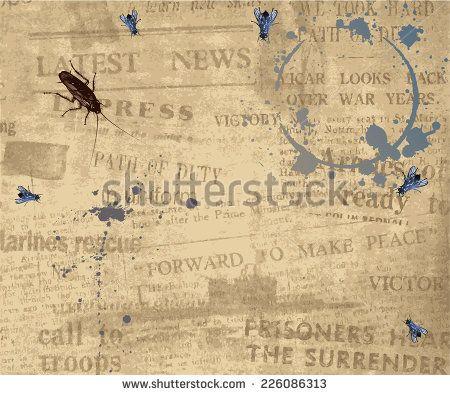 Newspaper Texture Stock Vectors & Vector Clip Art | Shutterstock