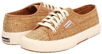 Superga 2750 Rafia Light Brown Footwear Superga