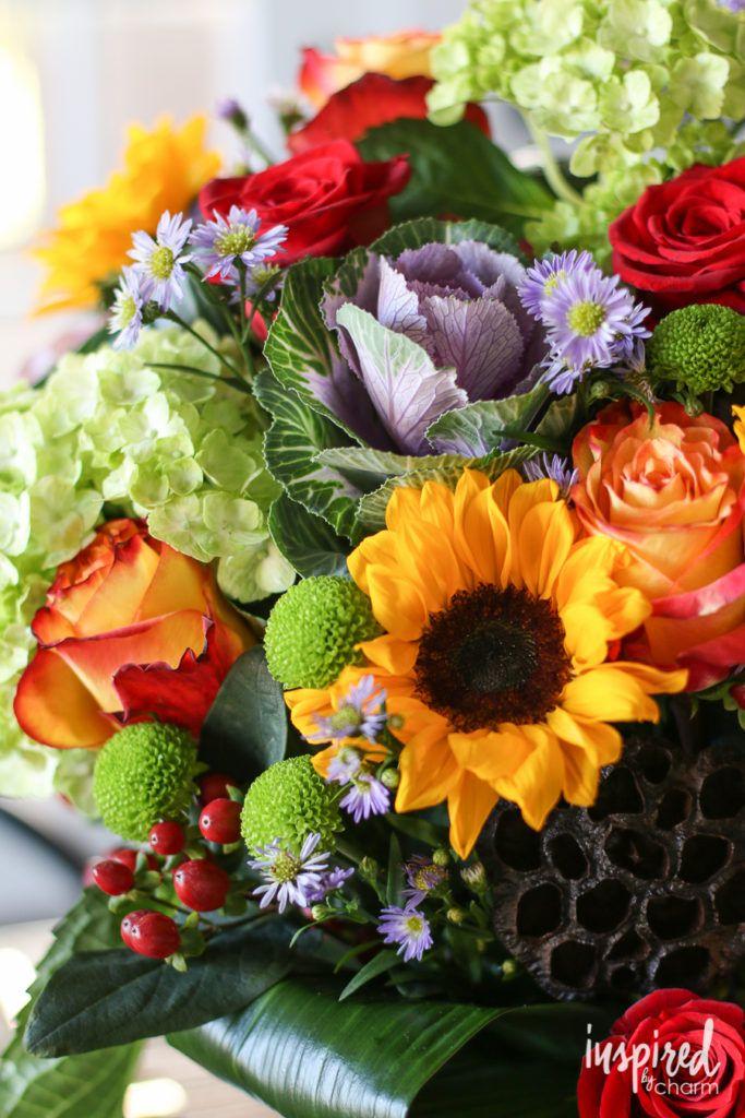 Tips For Celebrating Friendsgiving. Fall FlowersPretty Flowers FloralThanksgiving