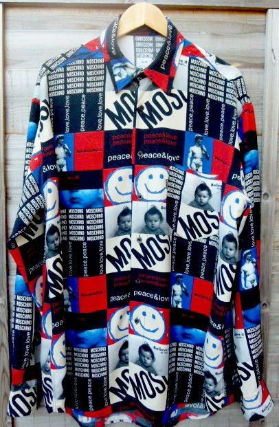 Moschino Men s Shirt Size XL - Vintage .100 % Genuine .  £190.00 (30B)