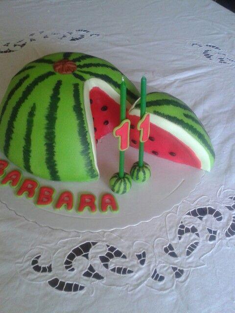 Bolo  melancia