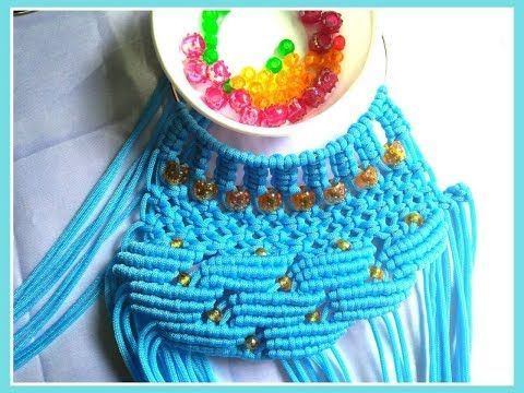 How to make macrame bag tutorial in hindi part -2 - YouTube