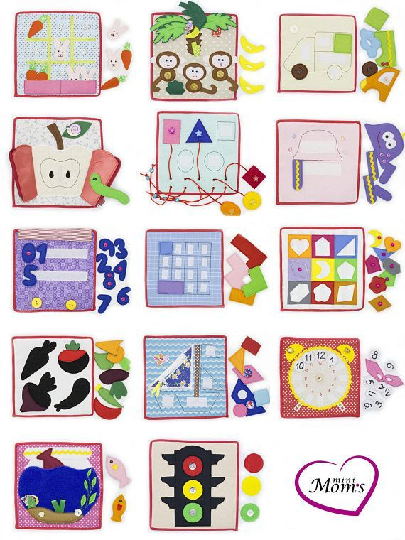 1 piece - Educational quiet tablet for toddler, Busy board ...