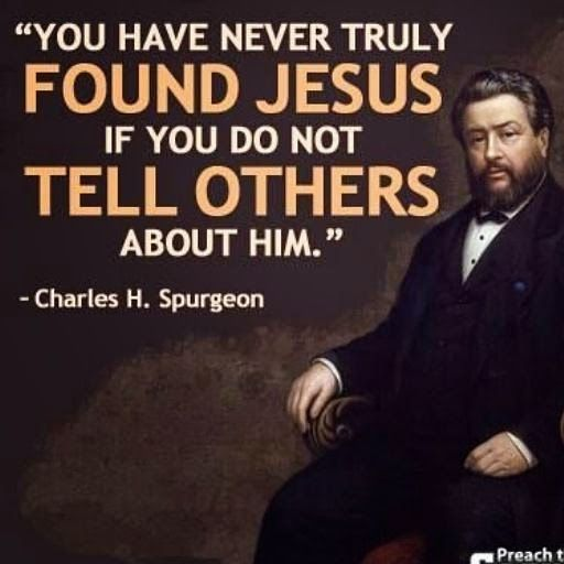 Tell others about Jesus christ and save a soul from the consequences of sin and death.