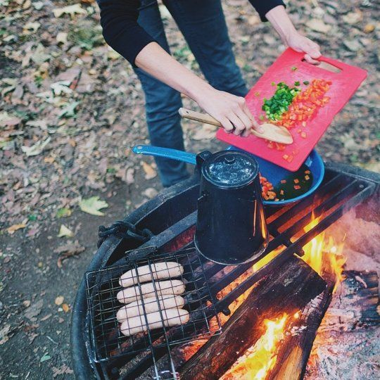 Campfire Cooking (Plus My New Favorite Meat Substitute) — Kitchen Diary: Emily in Los Angeles