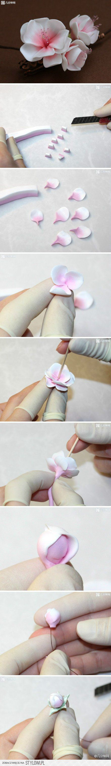 DIY Marshmallow Flower DIY Projects | UsefulDIY.com na Stylowi.pl