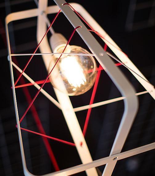 Het Lichtlab tafellamp no. 31 Lichtkooi Large Wit - Het Lichtlab - Lamp123.nl
