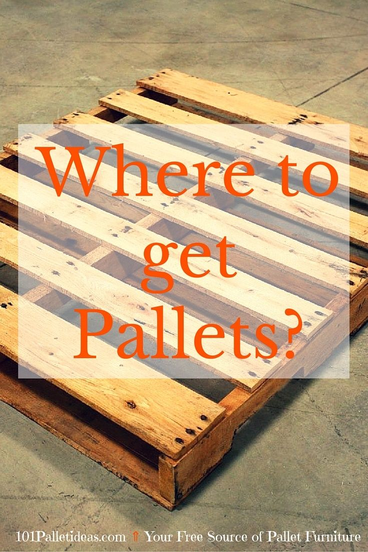Where to Get Pallets for Free?