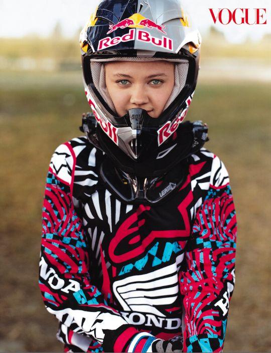 Ashley Fiolek Motorcross Champ! Who Run the World? Girls!