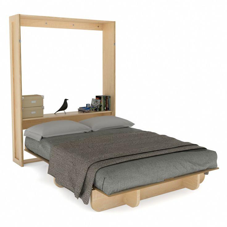 10 best Murphy queen bed images on Pinterest   Murphy bed plans ...